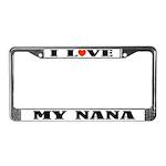 My Nana License Plate Frame