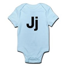 Helvetica Jj Infant Bodysuit