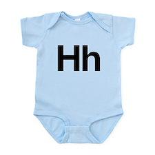 Helvetica Hh Infant Bodysuit