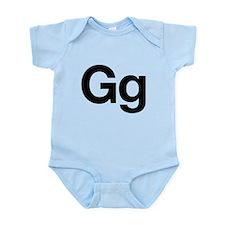 Helvetica Gg Infant Bodysuit
