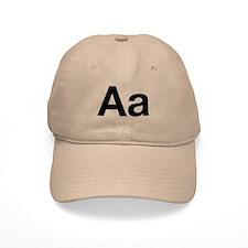 Helvetica Aa Baseball Cap