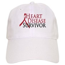 Heart Disease Survivor (2009) Baseball Cap