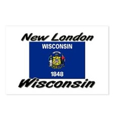 New London Wisconsin Postcards (Package of 8)