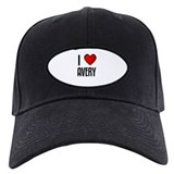 I LOVE AVERY Baseball Cap