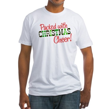 Christmas Cheer Fitted T-Shirt