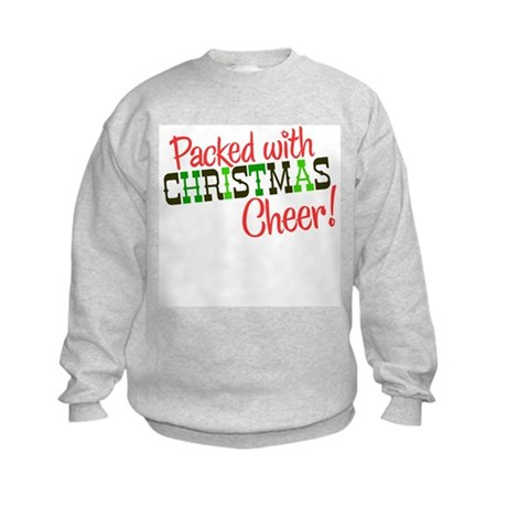 Christmas Cheer Kids Sweatshirt