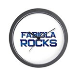 fabiola rocks Wall Clock