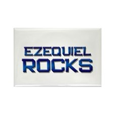 ezequiel rocks Rectangle Magnet (10 pack)