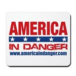 America In Danger Mousepad