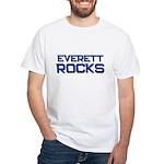 everett rocks White T-Shirt