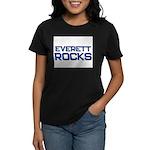 everett rocks Women's Dark T-Shirt