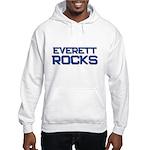 everett rocks Hooded Sweatshirt