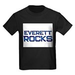 everett rocks Kids Dark T-Shirt