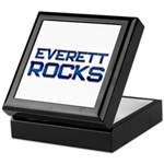 everett rocks Keepsake Box