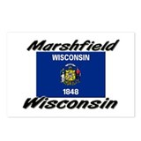 Marshfield Wisconsin Postcards (Package of 8)