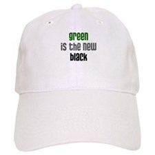 Green is the New Black - Baseball Cap