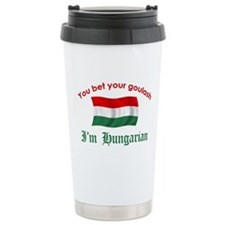 Hungarian Goulash 2 Ceramic Travel Mug