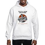 Fuzzy Journalism? Hooded Sweatshirt