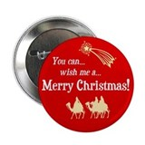 Christmas button (10 pack)