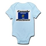 Kenosha Wisconsin Infant Bodysuit