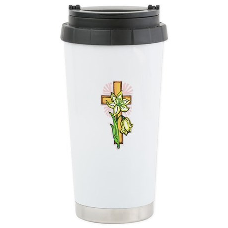 Pretty Easter Ceramic Travel Mug