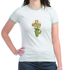 Pretty Easter Jr. Ringer T-Shirt