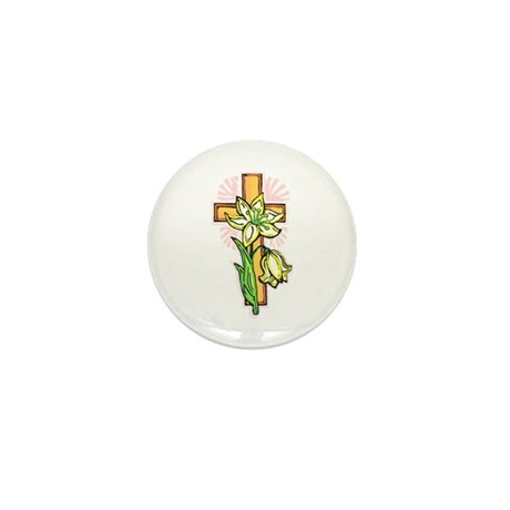 Pretty Easter Mini Button