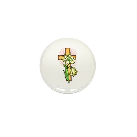 Pretty Easter Mini Button (100 pack)