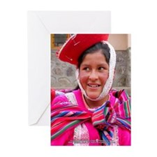 Woman in Patacancha - Greeting Cards(Pk of 10)