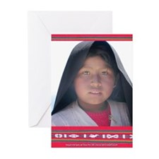 Taquile Girl - Greeting Cards (Pk of 10)