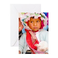 Pretty Girl - Greeting Cards (Pk of 10)