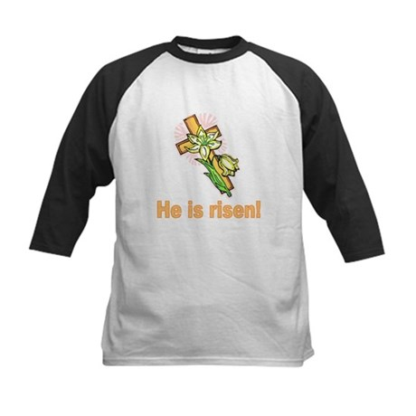 He is Risen Kids Baseball Jersey