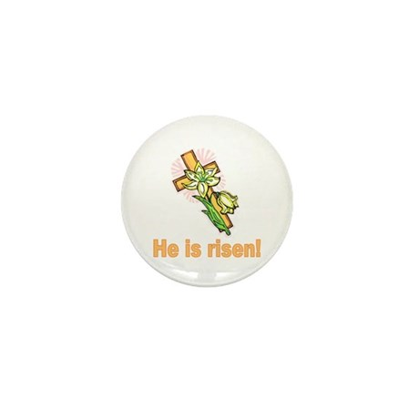 He is Risen Mini Button (10 pack)