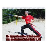 Christian Martial Arts Wall Calendar