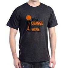 I Wear Orange For My Wife 9 KC T-Shirt