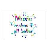 Music Postcards (Package of 8)