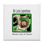 St Patricks Day Tile Coaster