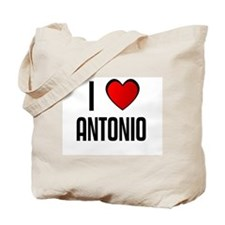 I LOVE ANTONIO Tote Bag