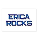 erica rocks Postcards (Package of 8)
