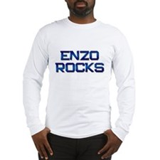 enzo rocks Long Sleeve T-Shirt