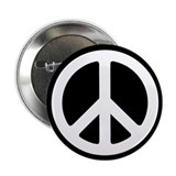 "2.25"" Peace Sign / Symbol Button"