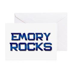 emory rocks Greeting Cards (Pk of 10)