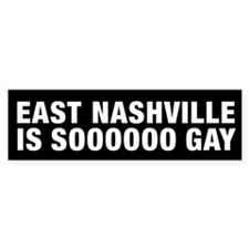 East Nashville is Sooooo Gay