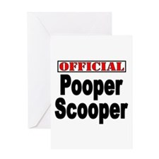 Scooper Greeting Card