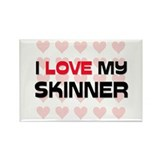 I Love My Skinner Rectangle Magnet (10 pack)