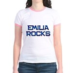 emilia rocks Jr. Ringer T-Shirt