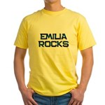 emilia rocks Yellow T-Shirt