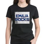 emilia rocks Women's Dark T-Shirt