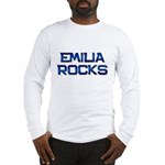 emilia rocks Long Sleeve T-Shirt