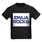 emilia rocks Kids Dark T-Shirt